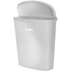BRUNNER PILLAR BIN WHITE