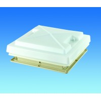 MPK 280 x 280 Rooflight c/w Flynet – White