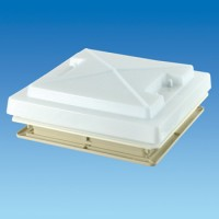 MPK 320 x 360 Rooflight c/w Flynet – White