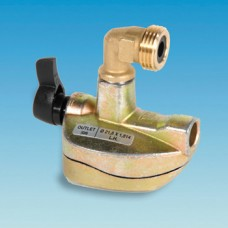 27mm Clip-on Adaptor x Butane 109 Male 90 Deg Outlet