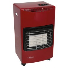 Large Gas Cabinet heater RED