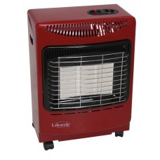 Small Gas Cabinet heater Red